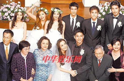 范玮琪陈建州婚礼强碰旧情人王力宏与张惠妹上台拥抱(图)