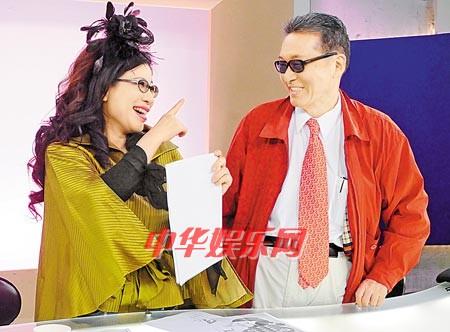 徐熙娣收到法院传票陈文茜要她节目中对李敖撒娇就好(图)