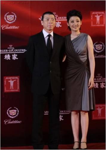 当国际明星著名影星苏珊·萨兰登、冯小刚、徐帆、范冰冰高清图片