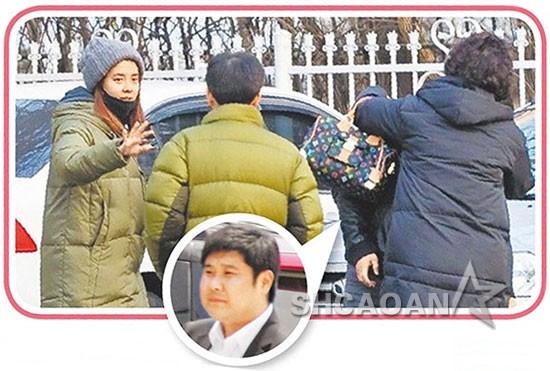 宋智孝和男友白昌洙秘恋曝光丈母娘对准女婿很满意(图)