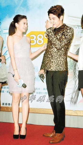 胡宇威和吴映洁被爆假戏真做 戏散触景伤情落