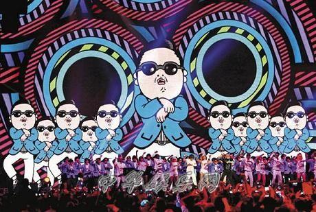 2012MTV欧洲音乐大奖PSY朴载相、韩庚击败SuperJunior(图)