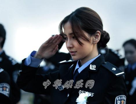 24岁杨颖《一场风花雪月的事》造型娇俏黄晓明献吻选手(图)