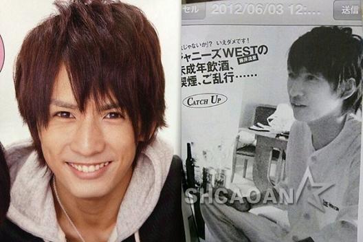 杰尼斯WEST成员藤井流星被爆18岁强暴女性TAKAHIRO重色轻友