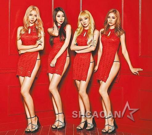 Stellar为新专辑《vibrato》露丁字裤Girl'sDay朴素珍走光(图)
