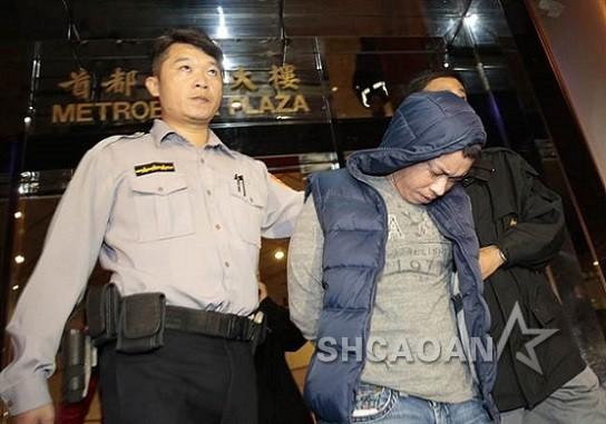 金刚(李信樵)涉酒店斗殴被警方带走10多人大打出手有人开枪(图)