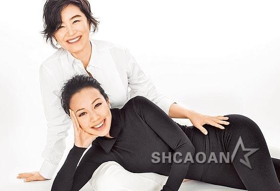 60岁林青霞的28岁继女邢嘉倩怀孕56岁生母张天爱称不结婚也OK