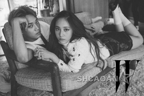 郑秀晶和男友KAI约会画面外流SEVENTEEN被要求做性爱表情(图)