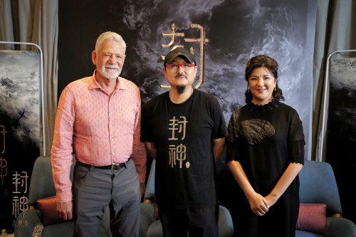 《封神三部曲》首次媒体探班获赞中国电影工业化新标杆