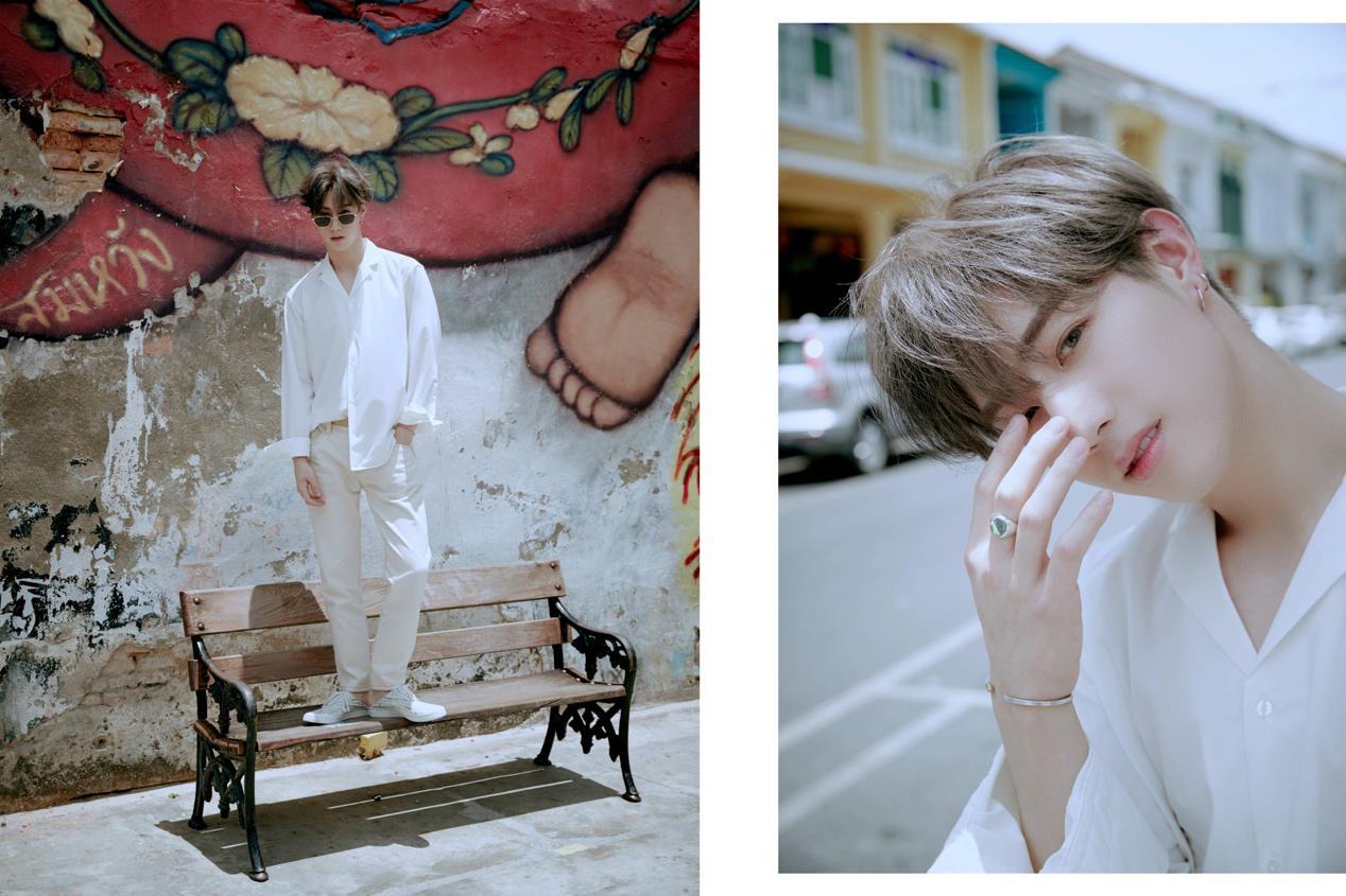 全能偶像段宜恩首张写真集《Mark宜夏》诚意上线完美诠释夏日清凉风