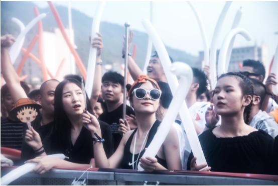 BUDX南昌梅嶺電音節打響了江西電音市場引領旗號