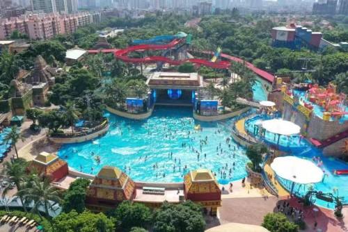 电竞热浪席卷深圳欢乐谷!暑期末残酷对决赛事不断!