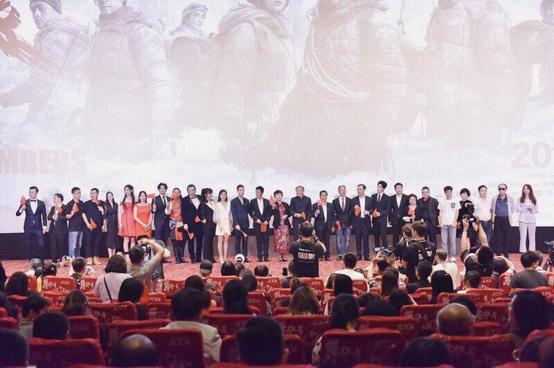 《攀登者》全球首映上影集团、华翊影视联合献礼国庆日