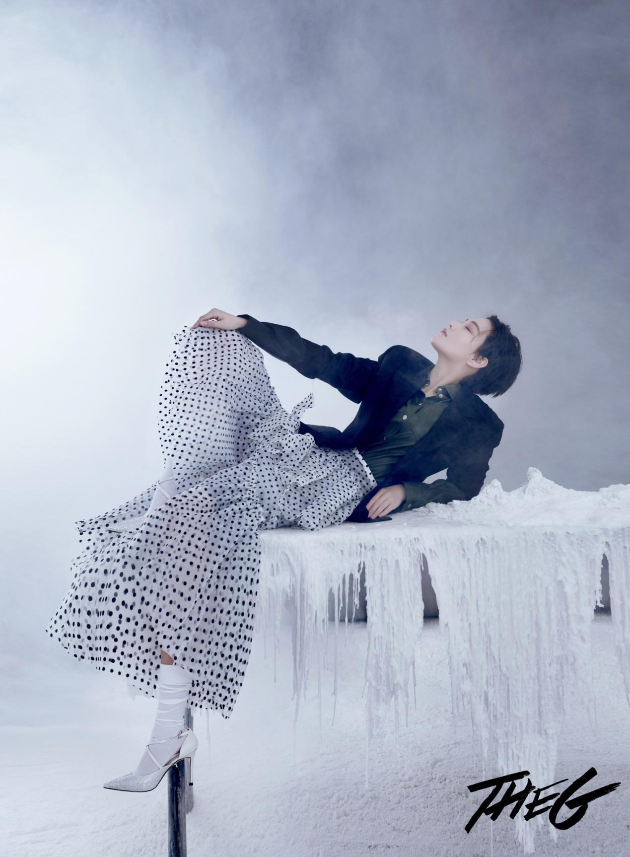 LuxuryRebel鞋子亮相張馨予時尚大片盡顯冰雪女王范兒
