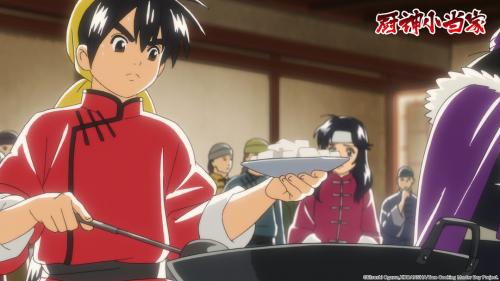 最想吃的是锅巴球和黄金开口笑包子动画《厨神小当家》原作者小川悦司专访