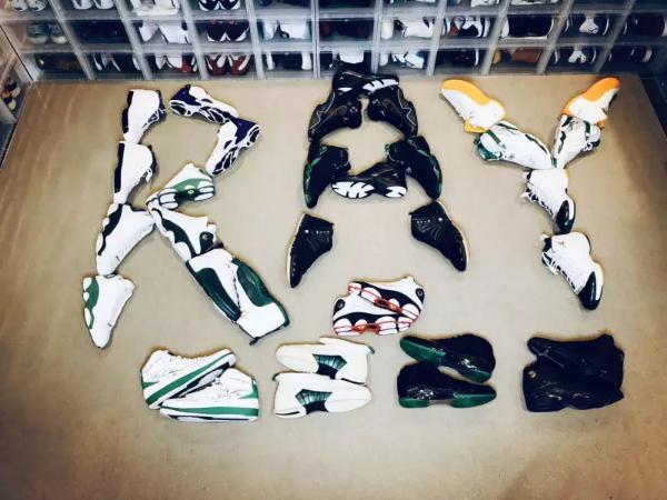 """""""球鞋收藏第一人""""耘硕来虎牙说鞋了!NBA百万级球鞋展潮爆眼球!"""