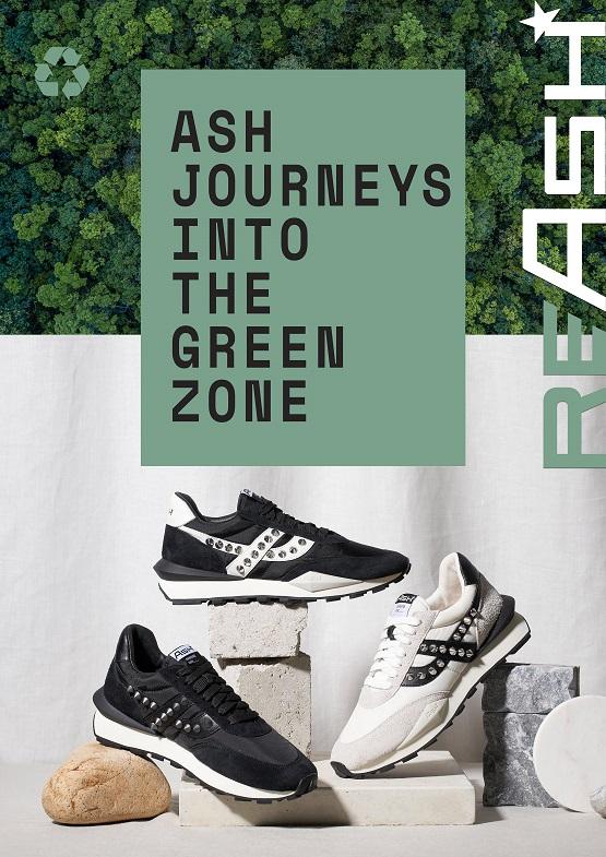 ASH首次推出环保鞋履系列RE/ASH 正式踏入绿色环保的旅程