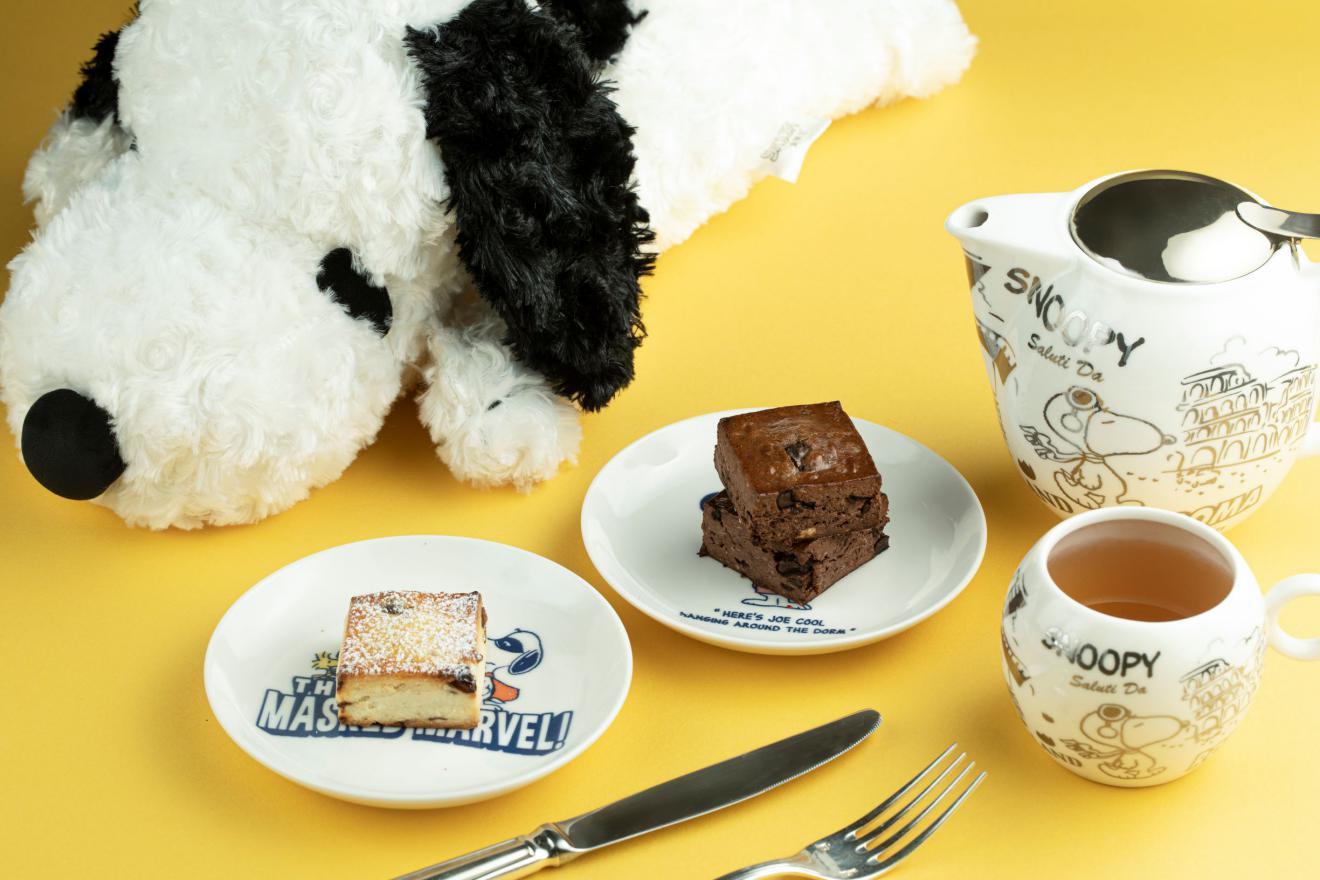 走进史努比的缤纷世界成都富力丽思卡尔顿酒店推出史努比主题房,史努比主题下午茶